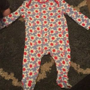 Other - Floral Print Footed Sleeper